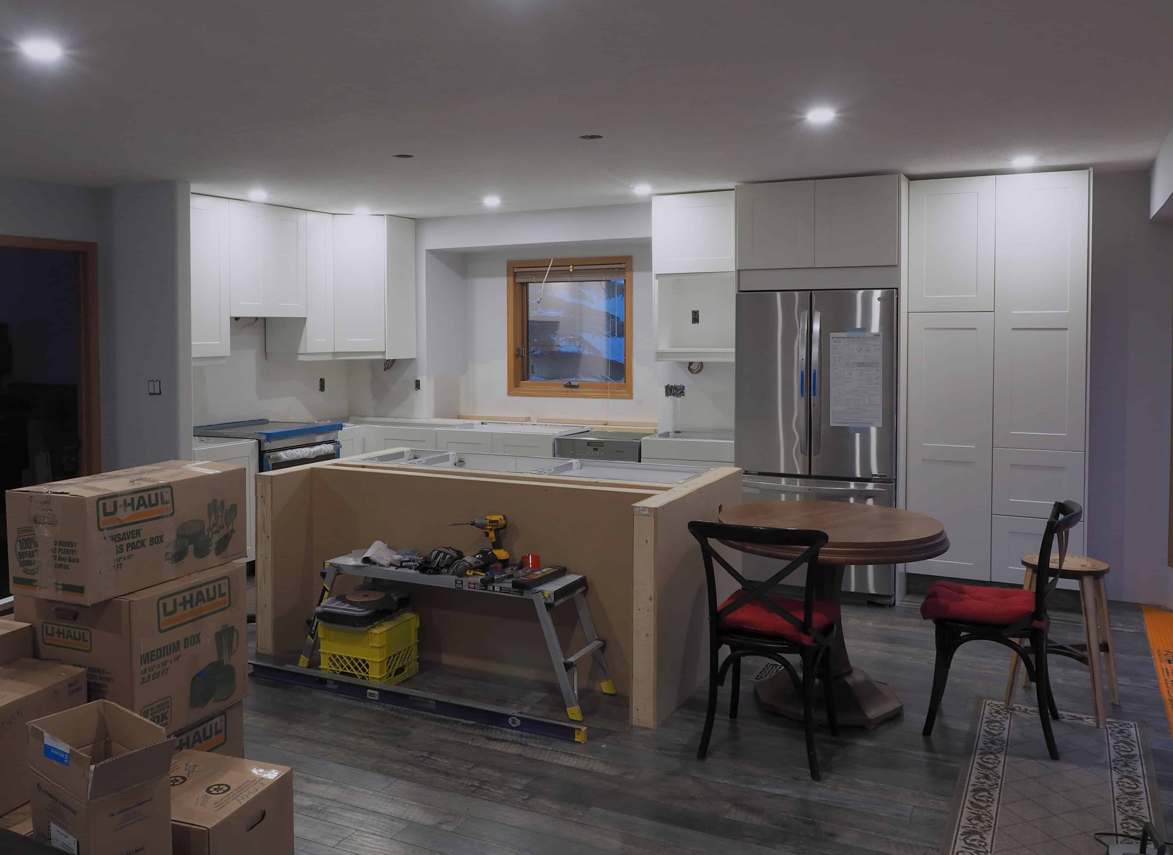 Cliqstudios Kitchen Cabinet Installation Guide Chapter: Kitchen Update- IKEA Cabinet Installation (Chapter #2